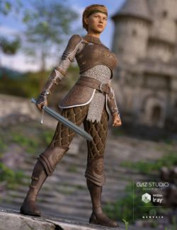 Alicia Armor Outfit for Genesis 3 Female(s)
