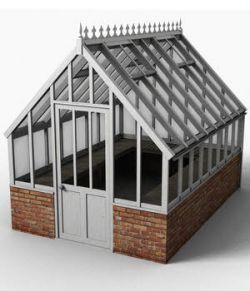 Victorian greenhouse set