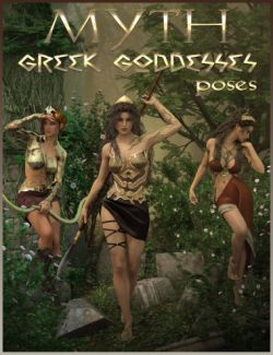 MYTH- Greek Goddesses Poses