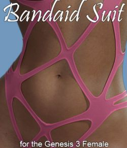 Bandaid Suit for Genesis 3 Female