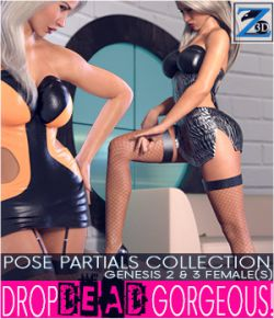 Z Drop Dead Gorgeous!- Pose Partials Collection- G2F-V6/G3F-V7