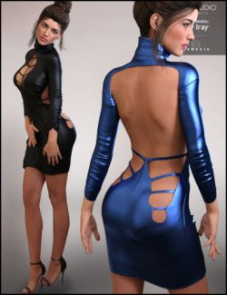 Nadia Outfit HD for Genesis 3 Female(s)