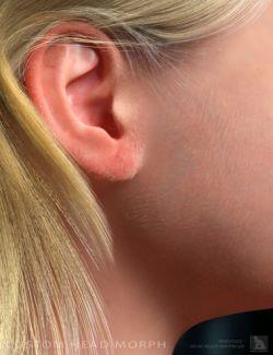 Peach Fuzz! Facial Vellus Hair for Genesis 3 Female(s)