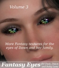 ML Fantasy Eyes Vol.3 for Dawn, Dusk & Baby Luna
