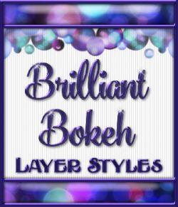 Brilliant Bokeh Layer Styles