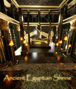 AJ Ancient Egyptian Shrine