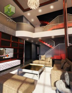 Tesla Living Room 2
