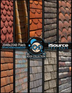 Roof Collection Merchant Resource- Vol1 (PBR Textures)