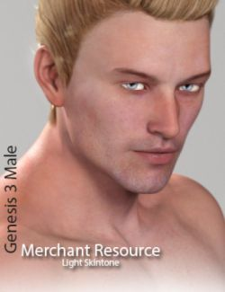 Genesis 3 Male Merchant Resource - Light Skin
