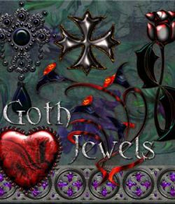 Harvest Moons Goth Jewels