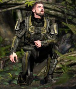 Assault Trooper (M4) (for Poser)