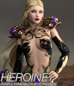 HEROINE for Purple Esmeralda