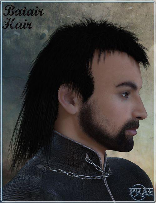 Prae-Batair Hair For M4