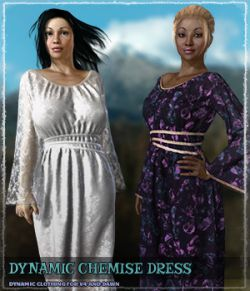 Dynamic Chemise Dress