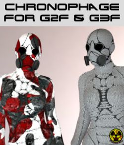 Chronophage Body Armor for G3F and G2F - Extended License