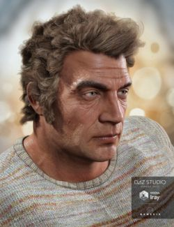 Thomas Hair for Genesis 3 Male(s)