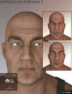Expressions for Ivan 7 and Genesis 3 Male(s)