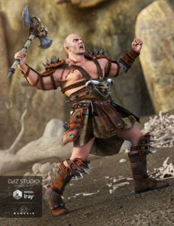 Heavy Barbarian for Genesis 3 Male(s)
