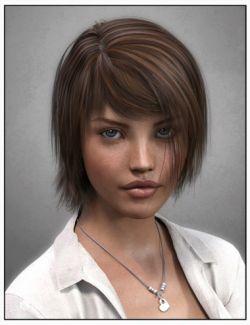 Zofia Hair for Genesis 3 Female(s)