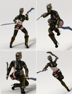 Arathia Rogue Poses for Genesis 3 Female(s)