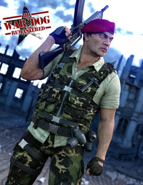 War Dog Remastered HD for Genesis 3 Male(s)