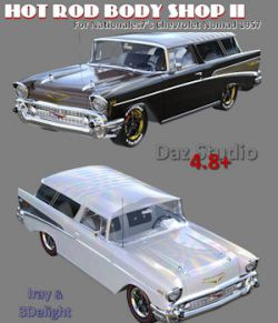 Hot Rod Body Shop Series 2 for Nationale7 Chevrolet Nomad