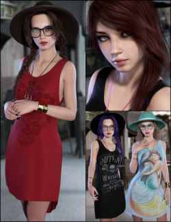 Totally Hipster Bundle - Character, Outfit and Expansion