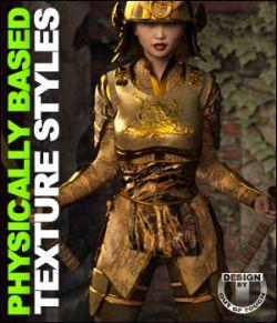 OOT PBR Texture Styles for Nitsu Hinshi Samurai Armor