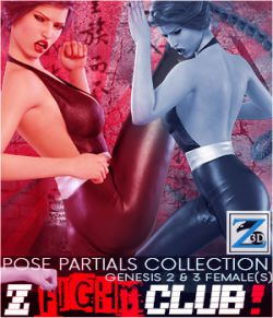 Z Fight Club- Pose Partials Collection- G2F-V6/G3F-V7