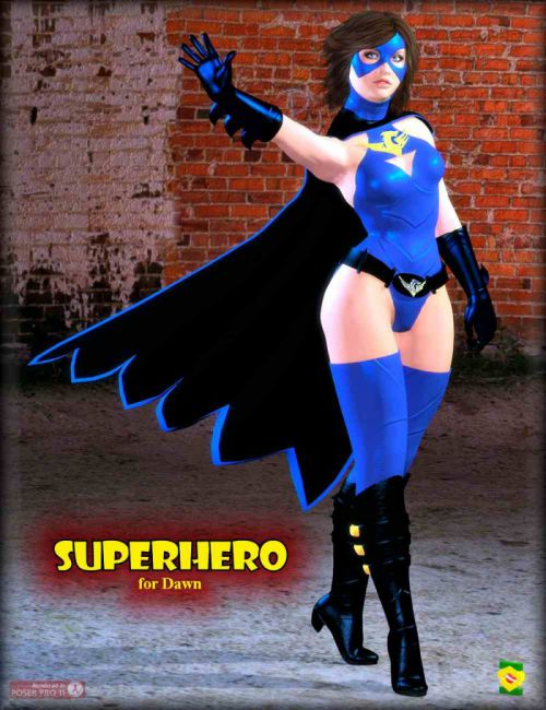 Superhero for Dawn