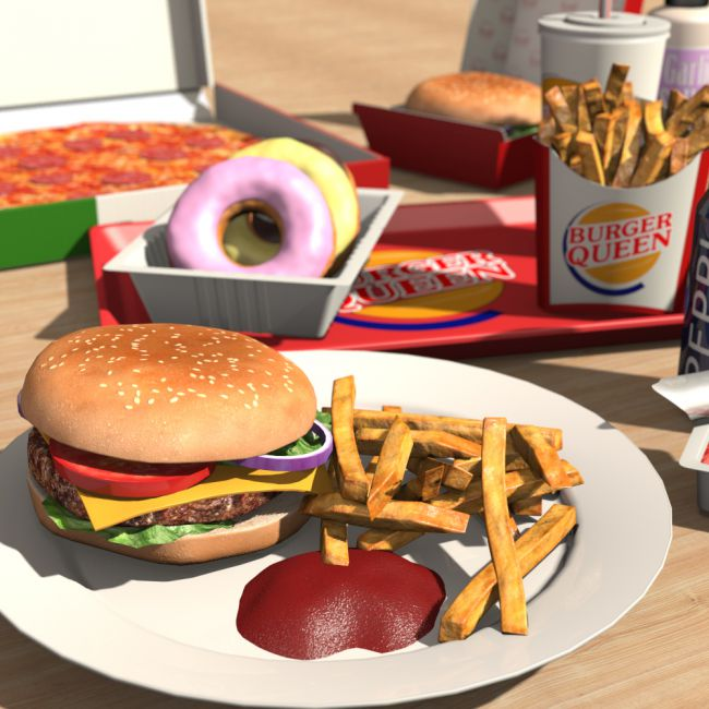 Everyday items, Fast food