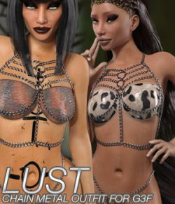 LUST - Chain Metal Outfit