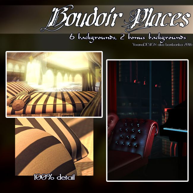Boudoir Places 1 and 2