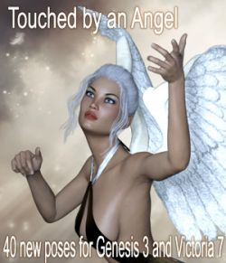 Touched by an Angel Poses for G3F /V7