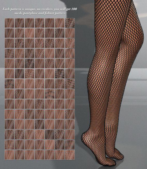 DAZ Iray - Pantyhose Meshes
