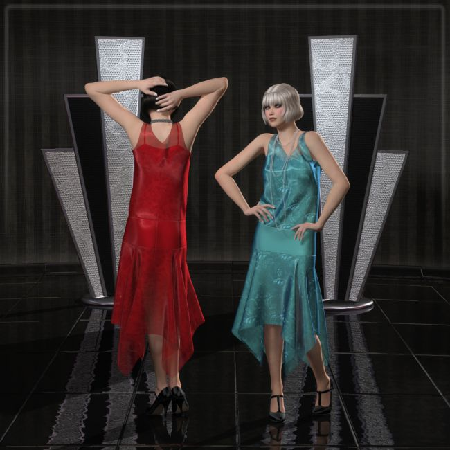 FRQ Dynamics: 1920s Dress