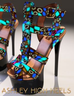 Ashley High Heels Genesis 3 Female(s)