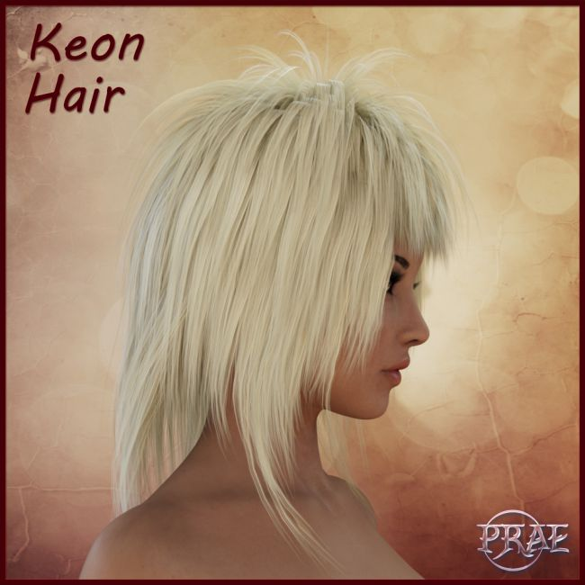 Prae-Keon Hair For Daz
