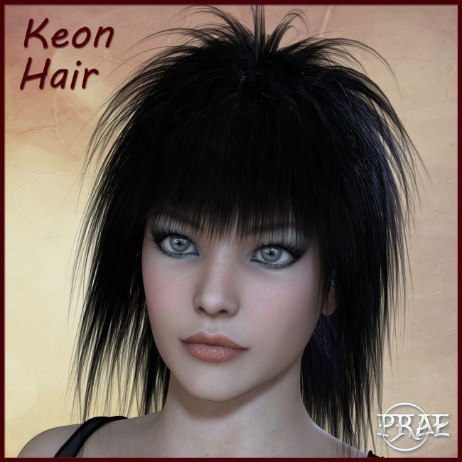Prae-Keon Hair For Poser