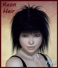 Prae-Keon Hair For Poser