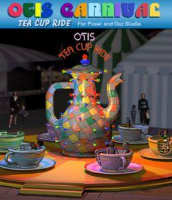 Otis Carnival Fun Fair Tea Cup Ride
