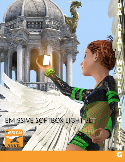 DA Emissive Softbox Light Set