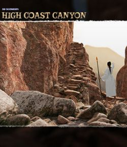 3D Scenery: High Coast Canyon