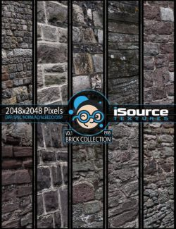 Brick Collection Merchant Resource- Vol1 (PBR Textures)