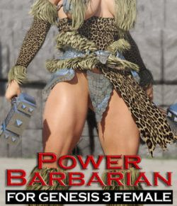 Power Barbarian for G3 female(s)