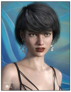 Kimmy Hair for Genesis 3 Female(s)