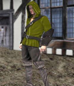 Medieval Archer (M4) (for Poser)