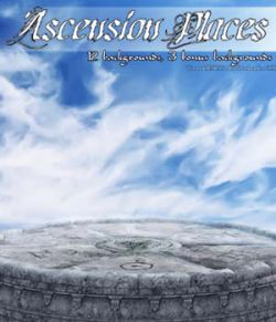 Ascension Places 2D backgrounds