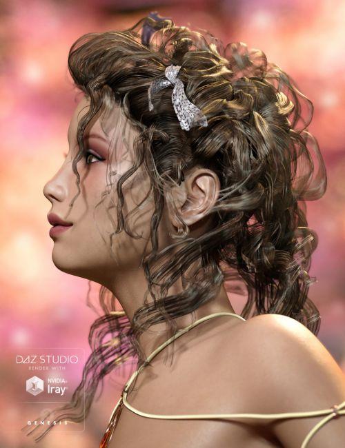 Crazy Hair for Genesis 3 Female(s)