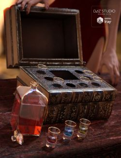 Set of Liqueur